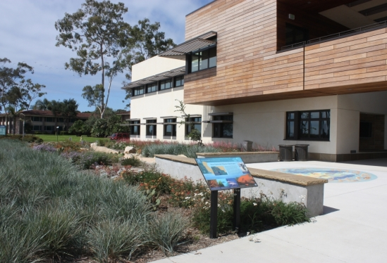 UCSB Ocean Science building, front