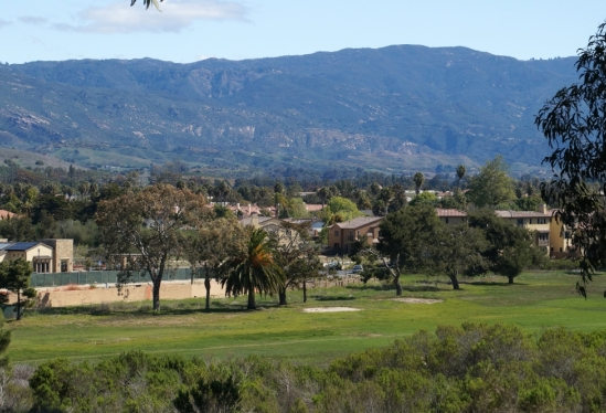 photo of view of former golf course
