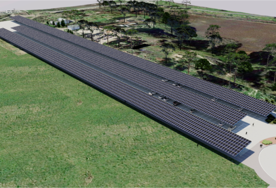 Alternate view of proposed solar for Lot 38