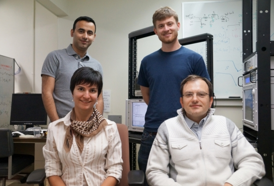 photo of artificial brain research team