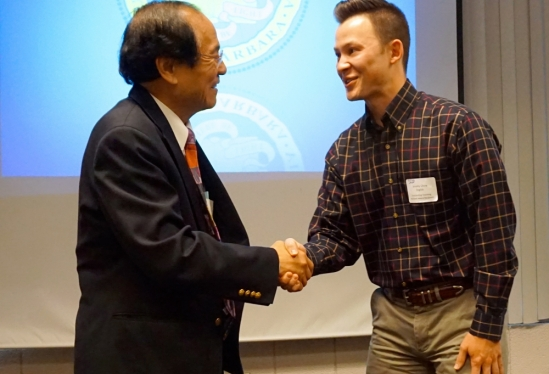 Chancellor Yang and Jeremy Chow