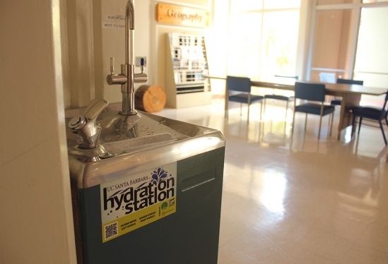 Hydration Station at UCSB