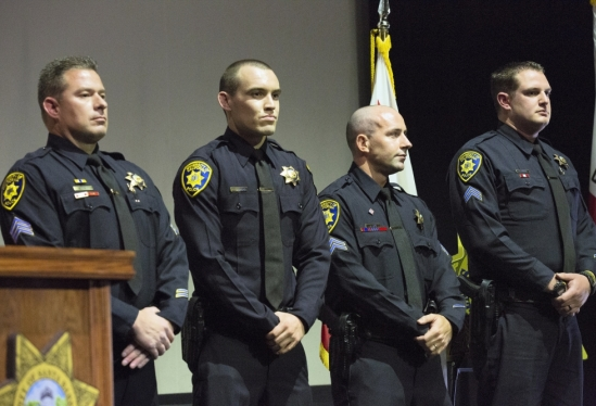 UCSB police officers at Public Safety Awards