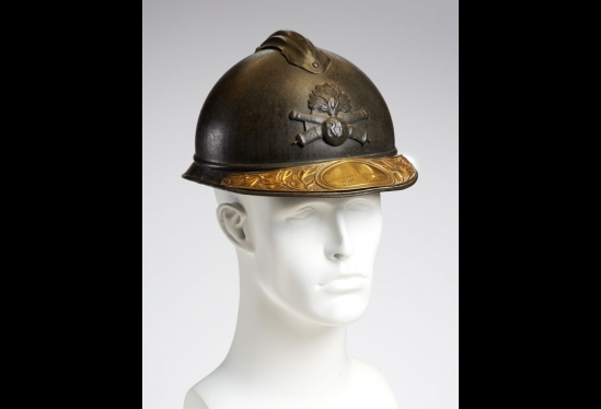 French Adrian helmet
