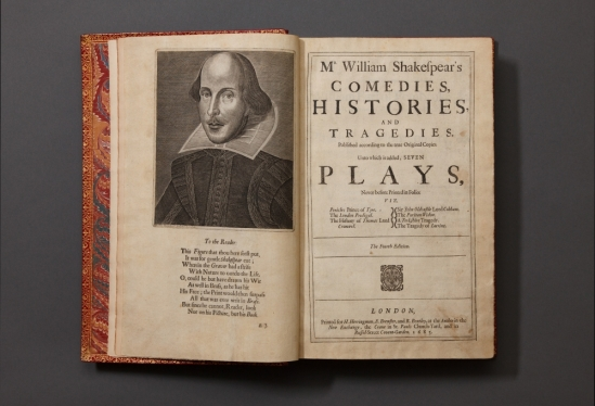 Shakespeare's Fourth Folio, UCSB Library