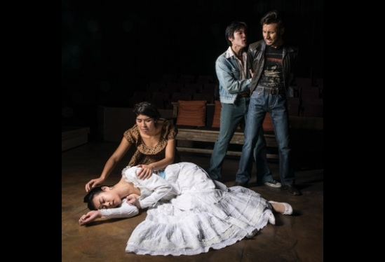 Cast of UCSB's production of Lydia