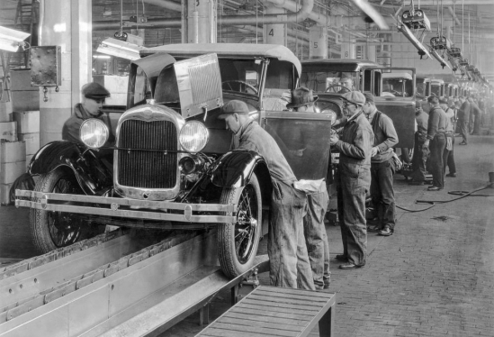 Automobile assembly line