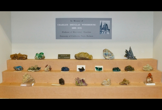 UC Santa Barbara houses a preeminent collection of minerals from across the globe featuring the classic mines of western North America
