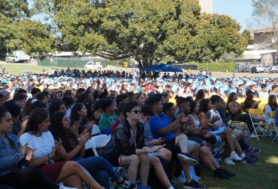 New Student Convocation marks the beginning of a new academic year