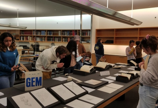 Getty Research Institute, concrete poetry, Scriptworlds