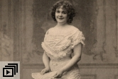 "Annie Wünsch in the 1904 premiere of ""The Mock Marriage"""