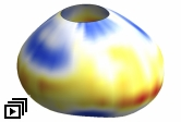 Image of 3D reconstruction of oil droplet