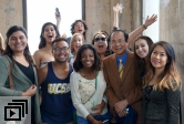 UCSB, students, Storke Tower