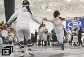 UCSB Fencing Club in competition