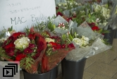 Holiday bouquets donated to The MAC for fire evacuees