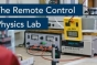 The physics department has taken one of its lab courses completely online with cameras and remote controlled equipment.