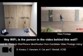 Yasamin Mostofi's latest research allows WiFi to identify a person through walls from candidate video footage