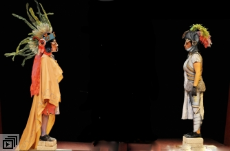 Production image from La Máquina de Teatro