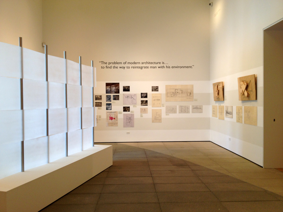 Exhibition at ucsb art design architecture museum for Art architectural