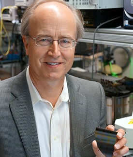 UCSB engineering professor John Bowers