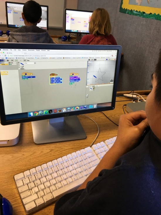 Computer science for kids at Gevirtz School