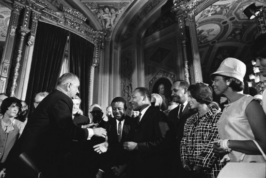 Voting Rights Act, Lyndon Johnson, Martin Luther King