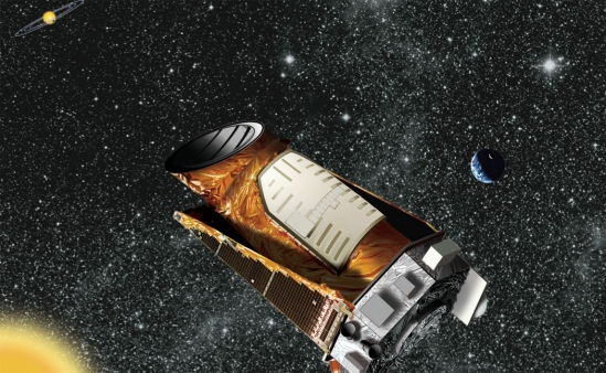 Artist's rendition of Kepler Spacecraft. credit: NASA/Kepler mission/Wendy Stenzel