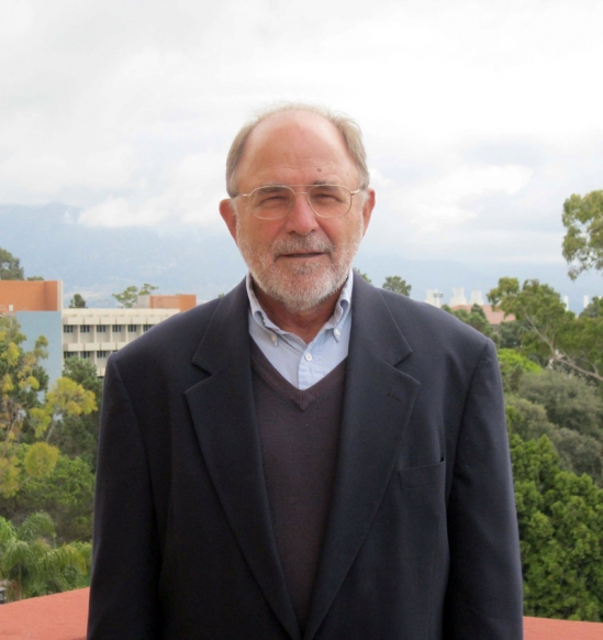 UCSB Mathematics professor Ken Millett