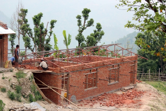 The project includes the expansion of the Sarswati Peace School.