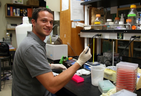 Researcher Adam Pollak