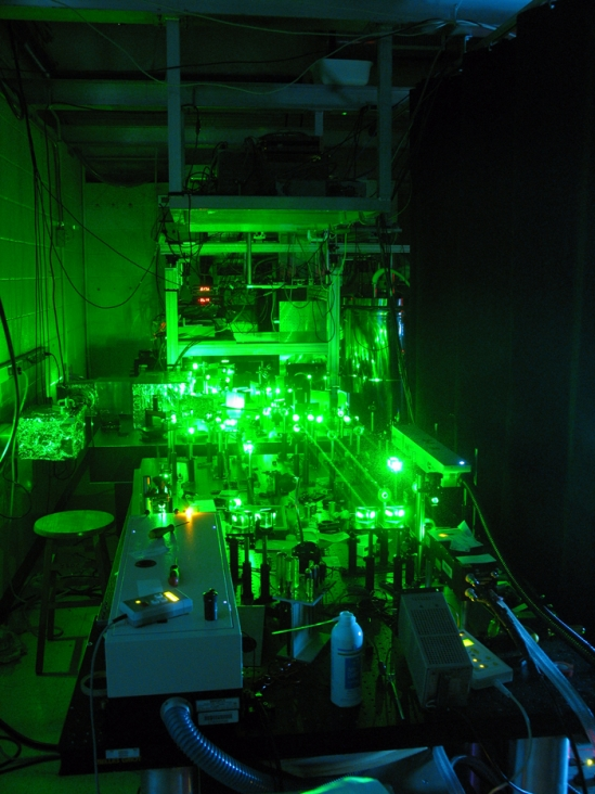 EPR spectrometer at UCSB