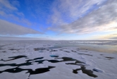 Arctic Ocean and sky