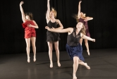 "Spring Dance Concert, ""Five Quiets."""