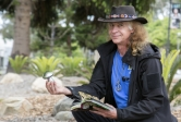 Custodian Richard O'Steen uses the UCSB Library to become an expert mycologist