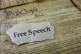 Free speech Constitution image