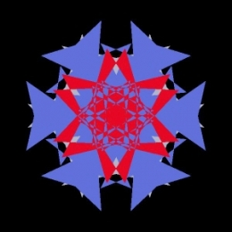 kaleidoscopic image