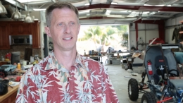 photo of UCSB Mini Baja team adviser