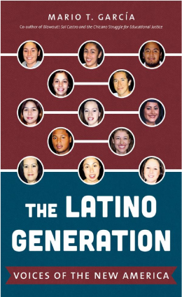 photo of Latino Generation book cover