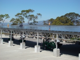 photo of photovoltaic project on Structure 22
