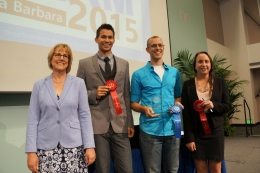 2015 UCSB Grad Slam winners