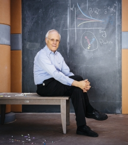 Nobel laureate David Gross