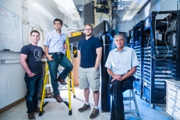 members of the John Martinis quantum computing group