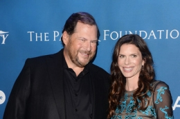 Marc and Lynne Benioff