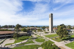 U.S. News & World Report once again ranks UCSB number 8 among the country's top public universities