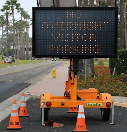 Overnight parking is prohibited over Deltopia weekend