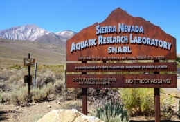 Sierra Nevada Aquatic Research Lab entrance