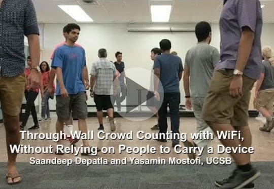 Crowd Counting Through Walls with Wifi