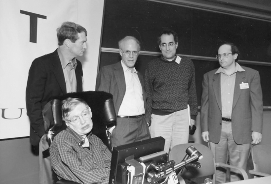Stephen Hawking at UCSB