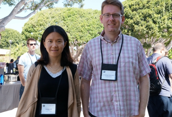 photo of UCSB computer scientists at CRYPTO 2014