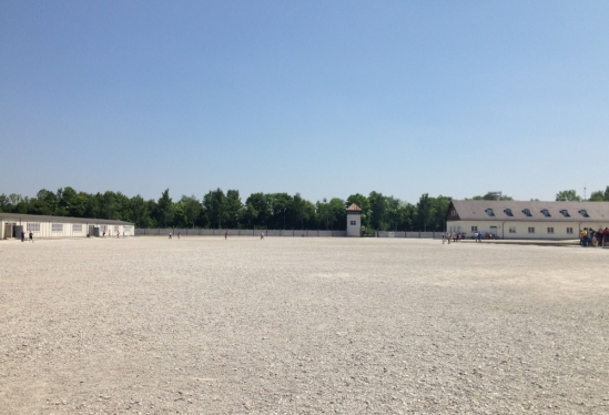 Roll Call Square in Dachau